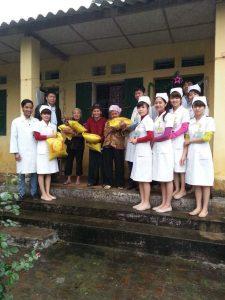 Chương trình từ thiện tại trại phong Quả Cảm – Bắc Ninh.